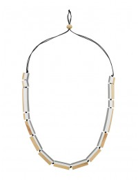 Turnabouts Spliced Optic Adjustable Necklace