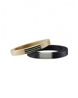 Turnabouts Spliced Bangle Set